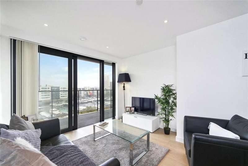 1 Bedroom Flat for sale in Horizons Tower, 1 Yabsley Street, London, E14