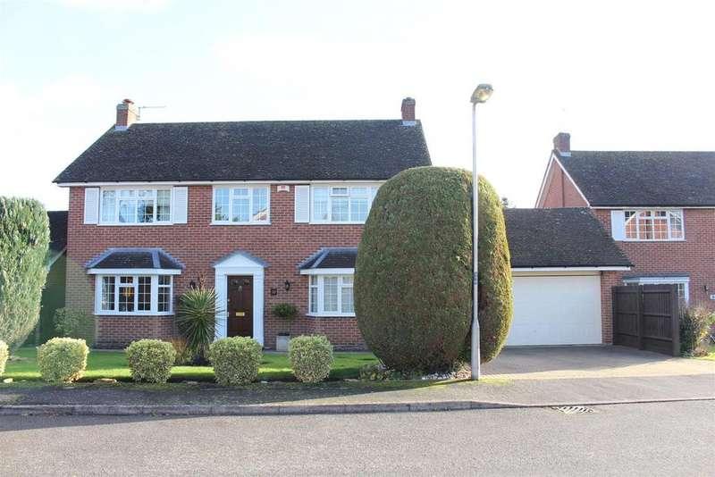 5 Bedrooms Detached House for sale in Shepperton Close, Castlethorpe, Milton Keynes