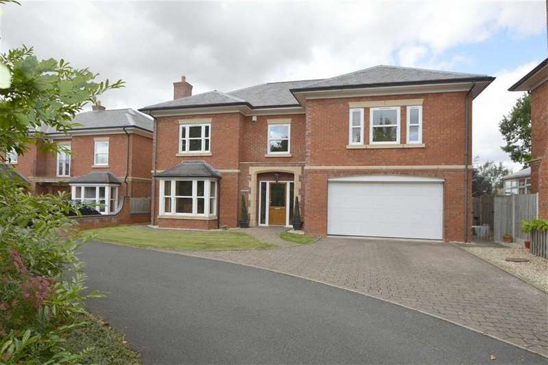 5 Bedrooms Detached House for sale in Mulbury House, Whitehouse Lane, Bomere Heath, SY4