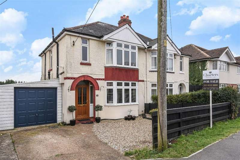3 Bedrooms Semi Detached House for sale in Chalvington Road, Chandler's Ford, Hampshire