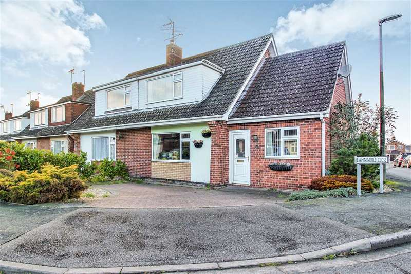 3 Bedrooms Semi Detached House for sale in Chiltern Road, Lincoln