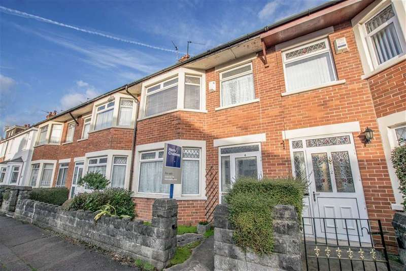 3 Bedrooms Terraced House for sale in Fairwater Grove West, Llandaff, Cardiff
