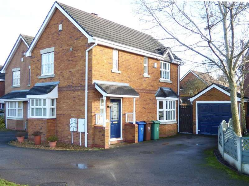 3 Bedrooms Detached House for rent in 1 Watermint Close, Wimblebury, WS12 2GL