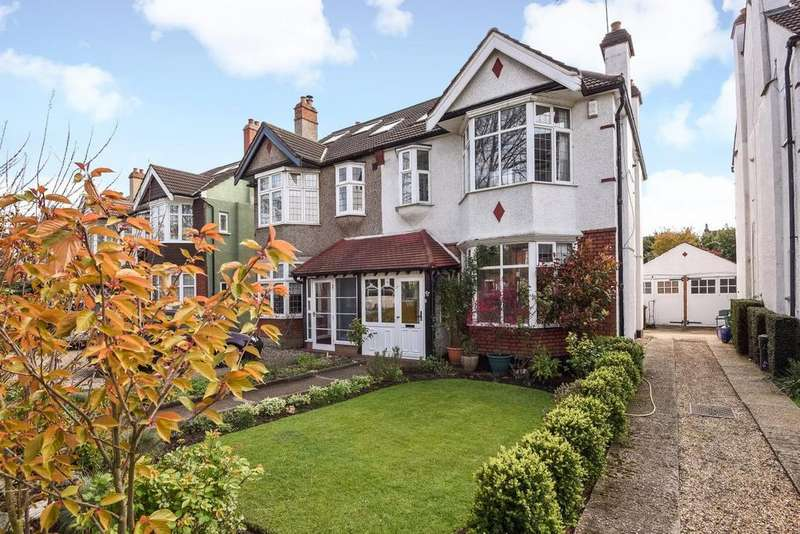 4 Bedrooms Semi Detached House for sale in Coombe Lane, Raynes Park