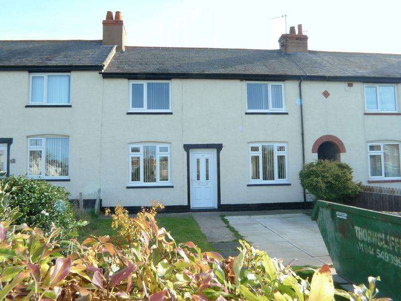 3 Bedrooms Terraced House for sale in Prince Edward Avenue, Rhyl