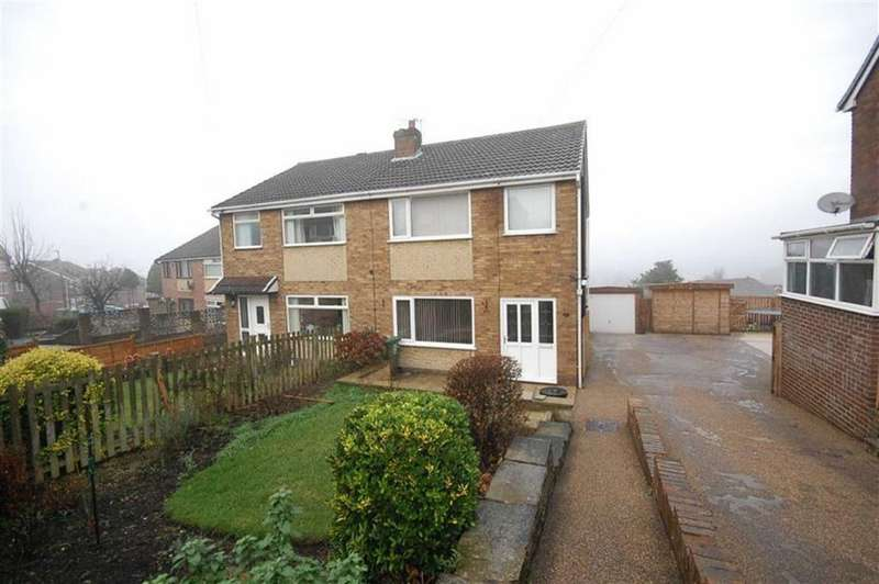 3 Bedrooms Semi Detached House for sale in Harewood Avenue, Heckmondwike, WF16