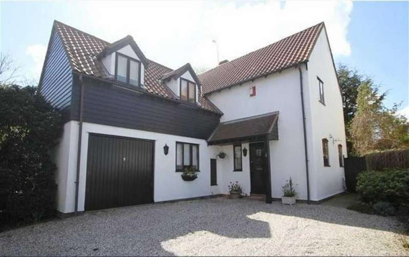 4 Bedrooms Detached House for sale in Kimberley Drive, Basildon