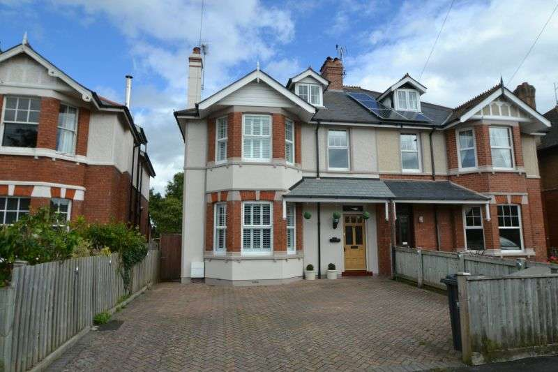 6 Bedrooms Semi Detached House for sale in Richmond Road, Exmouth, Devon