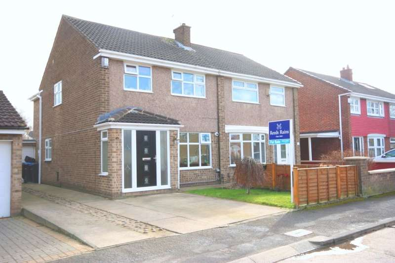3 Bedrooms Semi Detached House for sale in Swainston Close, Acklam, Middlesbrough, TS5