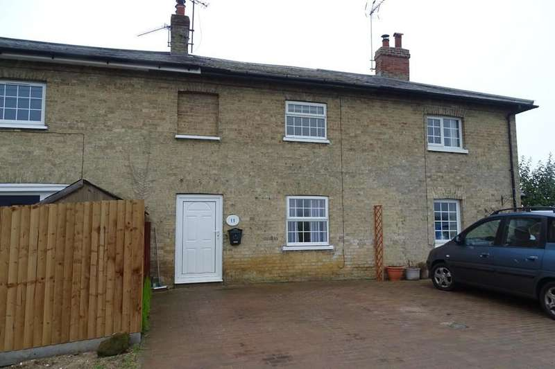 2 Bedrooms Terraced House for rent in Tallon End, Foulden, Thetford