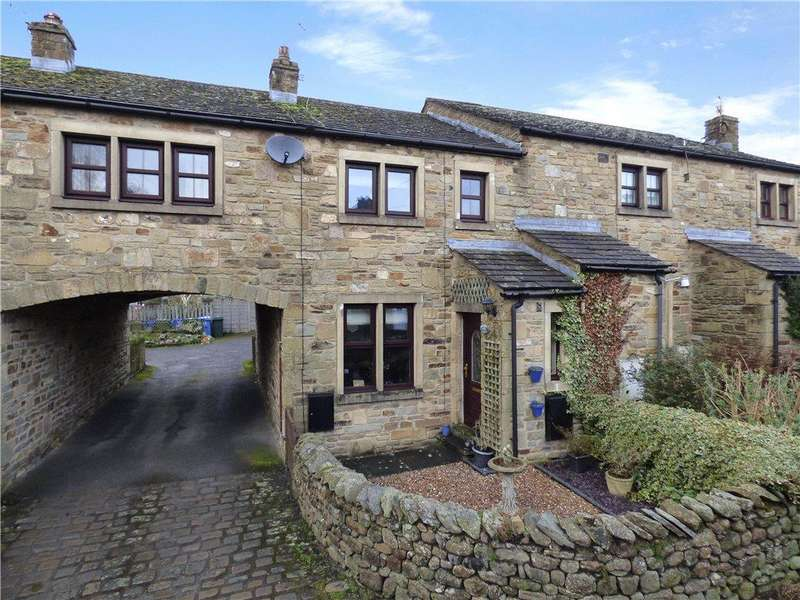 3 Bedrooms Terraced House for sale in Station Road, Long Preston, Skipton, North Yorkshire