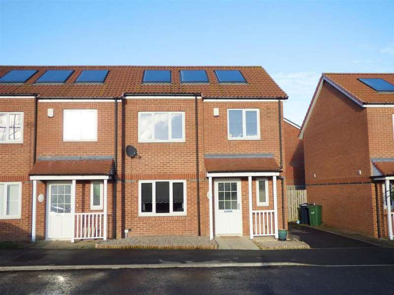 3 Bedrooms Semi Detached House for sale in Kirkhill, Beckwith Green, Sunderland