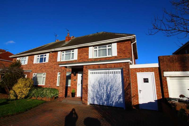 4 Bedrooms Semi Detached House for sale in The Broadway, Tynemouth