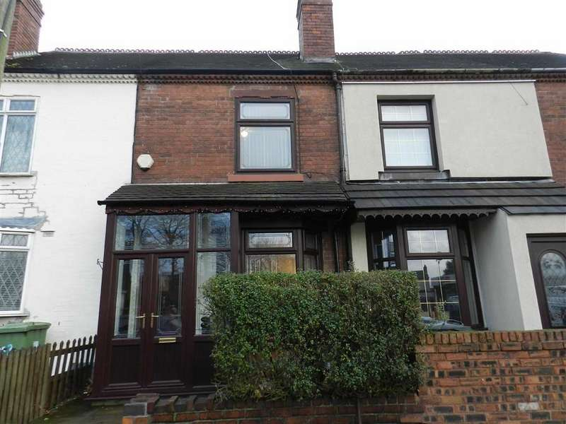 2 Bedrooms Terraced House for sale in Bloxwich Road, Walsall, West Midlands