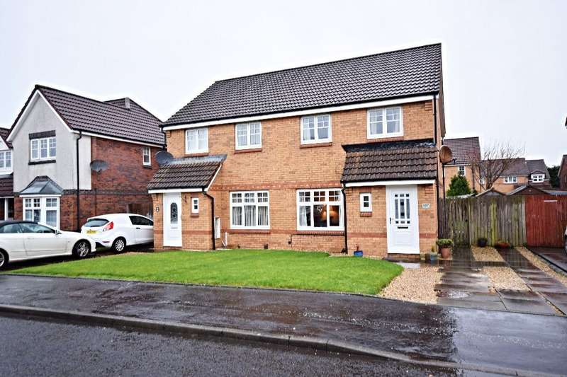 3 Bedrooms Semi-detached Villa House for sale in Obree Avenue , Prestwick , Ayrshire, KA9 2NT