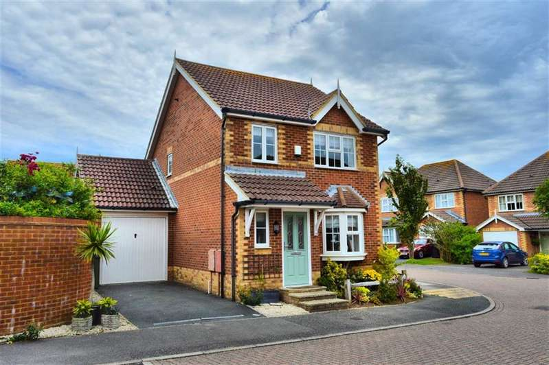 3 Bedrooms Detached House for sale in Micklefield Way, Seaford, East Sussex