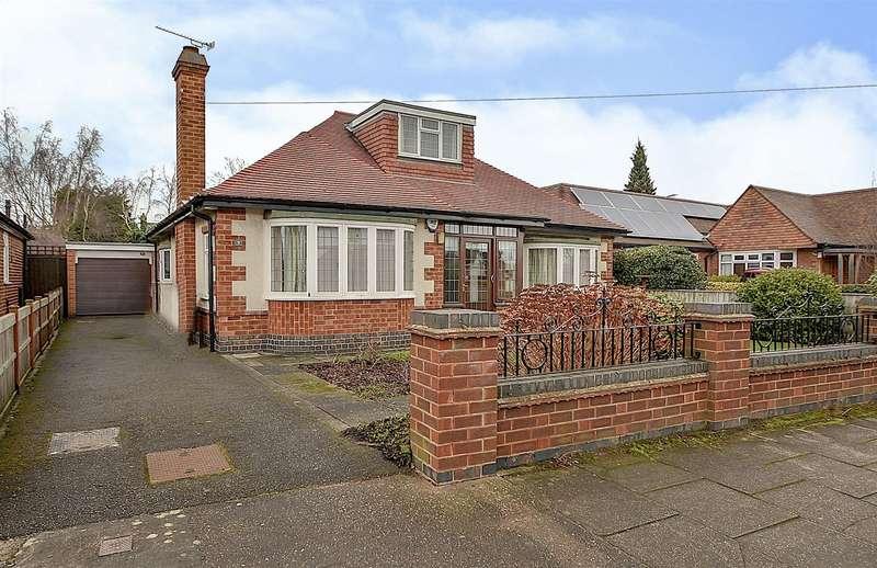 2 Bedrooms Detached Bungalow for sale in Hillside Drive, Long Eaton