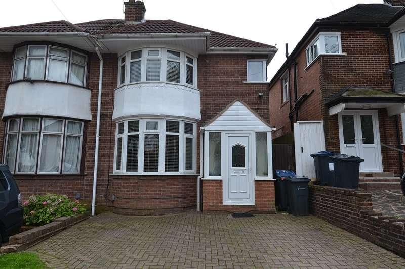 3 Bedrooms Semi Detached House for sale in Dockar Road, Northfield, Birmingham, B31