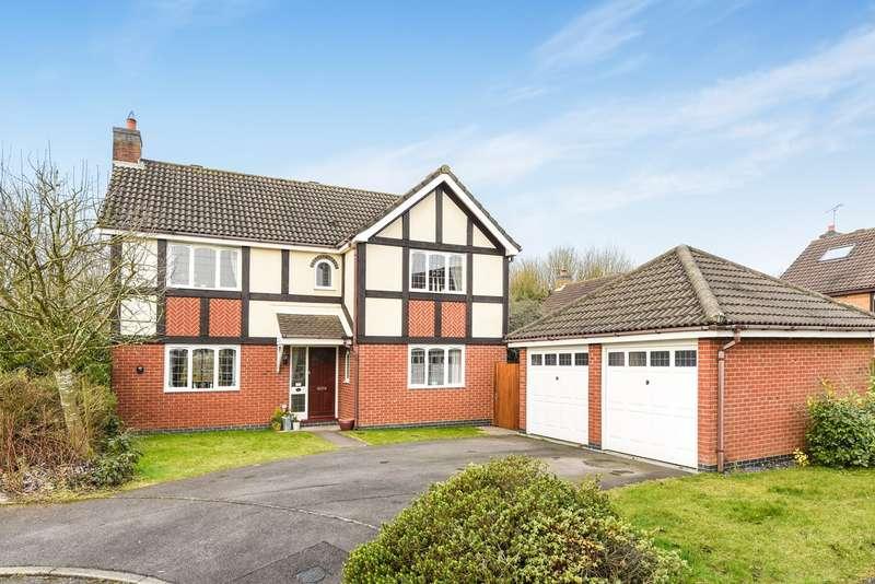 4 Bedrooms Detached House for sale in The Cornfields, Hatch Warren, Basingstoke, RG22