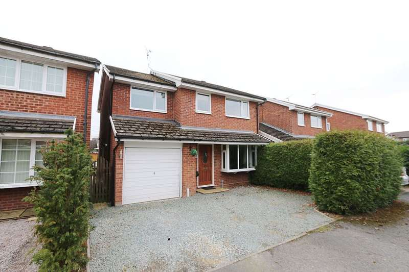 4 Bedrooms Detached House for sale in Gorse Crescent, Marford, Wrexham, North Wales, LL12