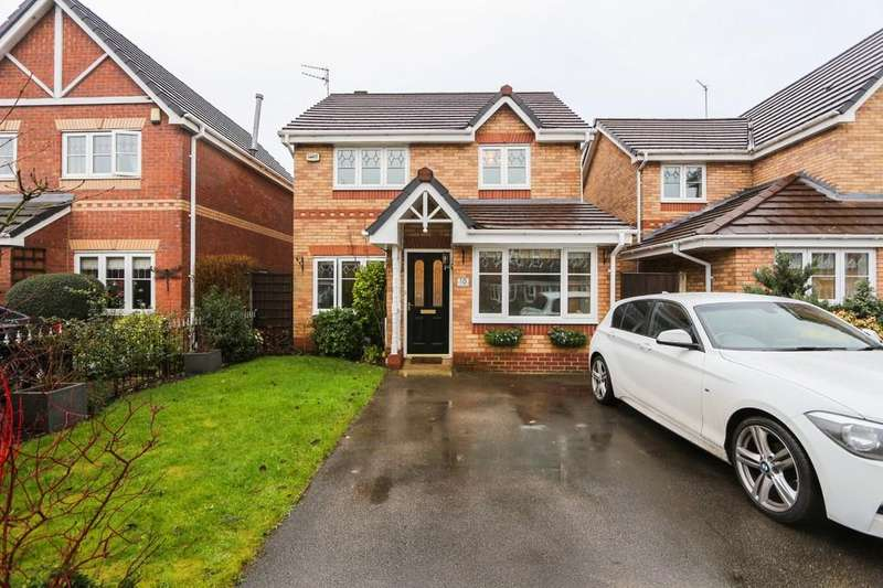 3 Bedrooms Detached House for sale in 10 Sandywarps, Irlam, Manchester