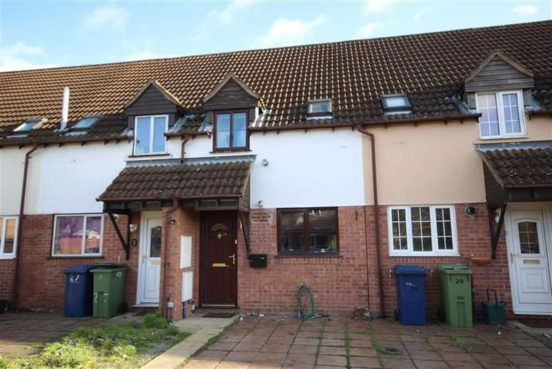 2 Bedrooms Terraced House for sale in Hawthorn Way, Northway, Tewkesbury, Gloucestershire