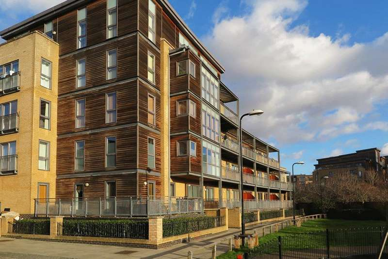 2 Bedrooms Flat for sale in Woodmill Road, Hackney