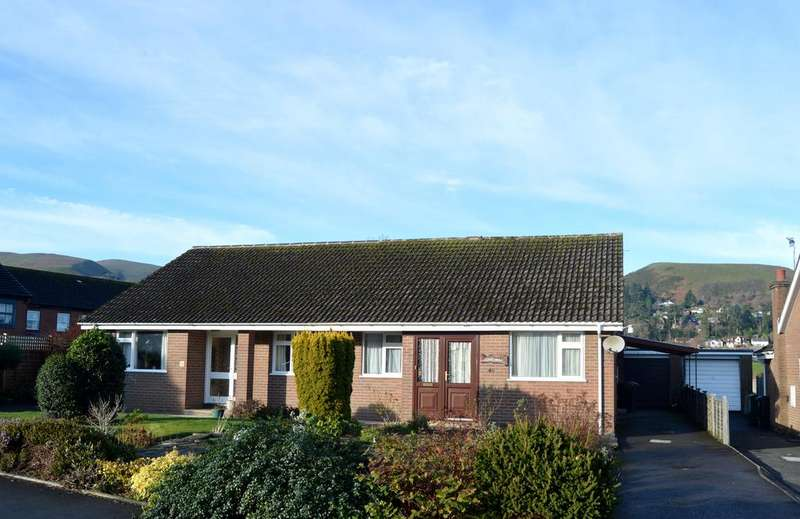 2 Bedrooms Semi Detached Bungalow for sale in 46 Churchill Road, Church Stretton SY6