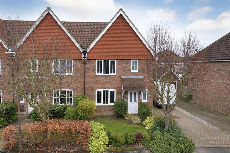 3 Bedrooms End Of Terrace House for sale in Buttercup Close, Paddock Wood
