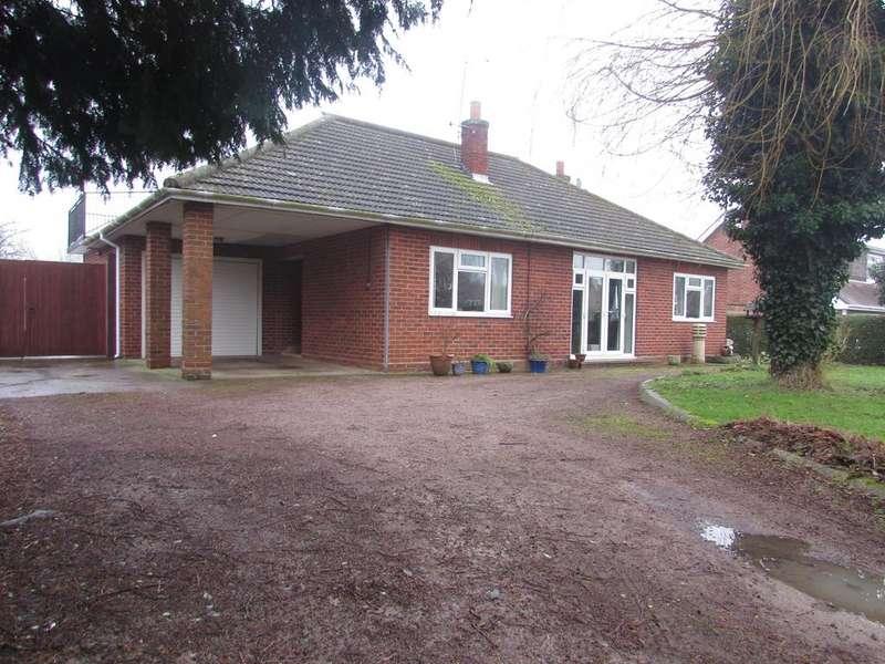 3 Bedrooms Detached Bungalow for sale in Marton Road, Birdingbury, CV23