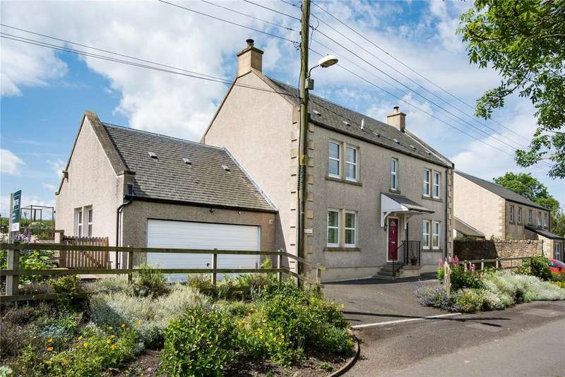 3 Bedrooms Detached House for sale in The Anchorage, Hutton, Berwickshire, Scottish Borders