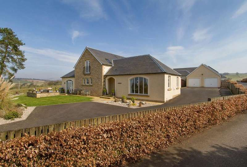 5 Bedrooms Detached House for sale in Ochil Lodge, Tethyknowe, Dollar, Clackmannanshire
