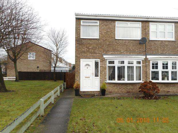 2 Bedrooms Semi Detached House for rent in CATCOTE ROAD, FENS, HARTLEPOOL