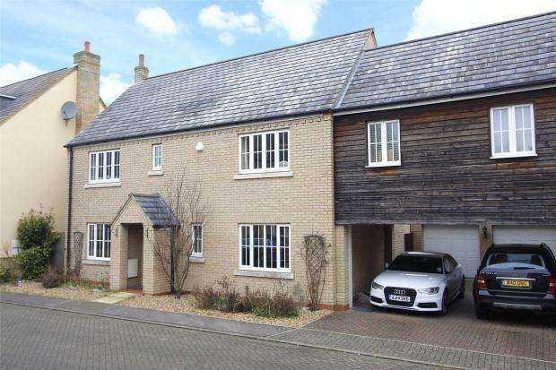 4 Bedrooms Link Detached House for sale in Braybrooke Place, Cambridge