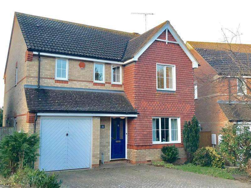 4 Bedrooms Detached House for sale in Winchfield, Caddington *****CHAIN FREE*****