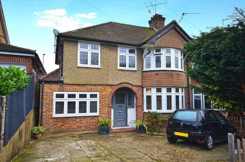 4 Bedrooms Semi Detached House for sale in Baldwins Lane, Croxley Green, Hertfordshire, WD3