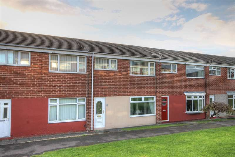 3 Bedrooms Terraced House for sale in Tynedale Walk, Shildon, County Durham, DL4