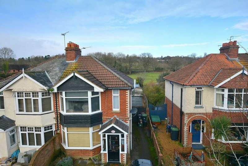 3 Bedrooms Semi Detached House for sale in Leigh Road, Wimborne