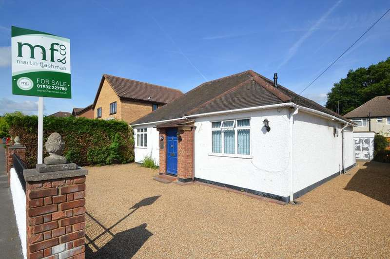 2 Bedrooms Detached Bungalow for sale in Carlton Road, WALTON ON THAMES KT12