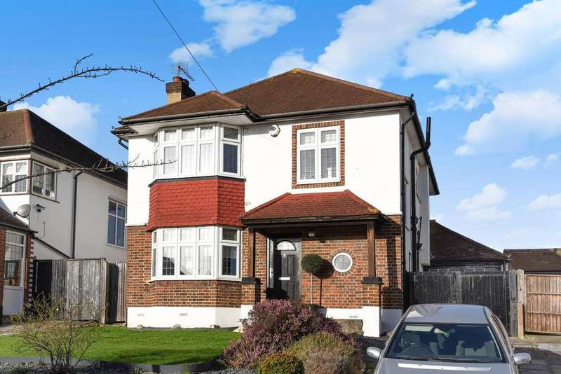 3 Bedrooms Detached House for sale in Courtlands Avenue, Hayes