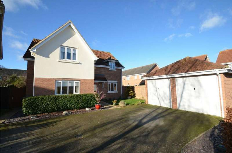 4 Bedrooms Detached House for sale in Flight Path, HENLOW, Bedfordshire