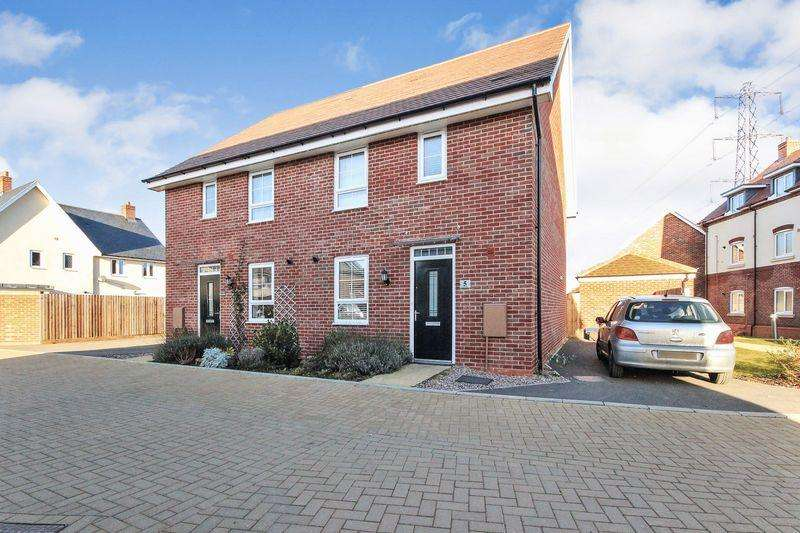 3 Bedrooms Semi Detached House for sale in Great Holmes, Marston Moretaine