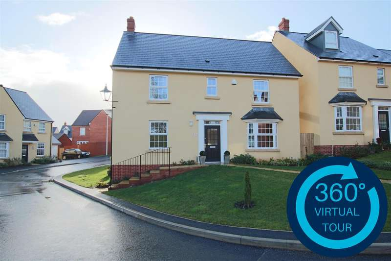 5 Bedrooms Detached House for sale in Sluggett Place, Hillside Gardens, Exeter