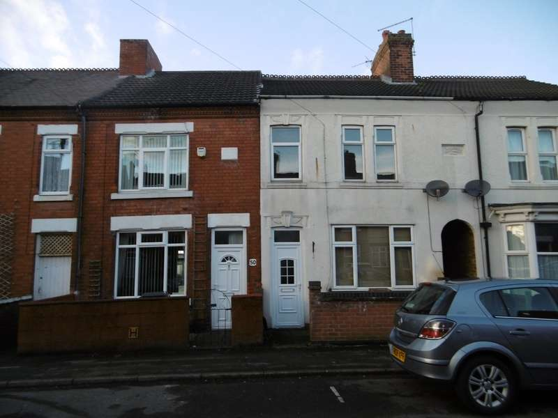 3 Bedrooms Terraced House for rent in Highfield Street, Coalville LE67