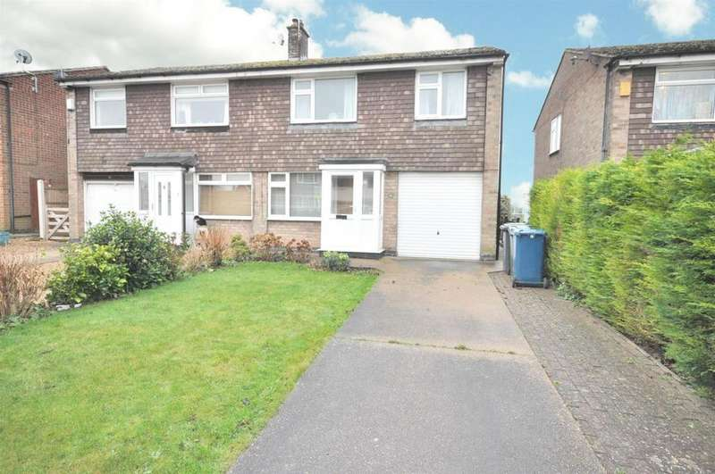 3 Bedrooms Semi Detached House for sale in Mensing Avenue, Cotgrave, Nottingham