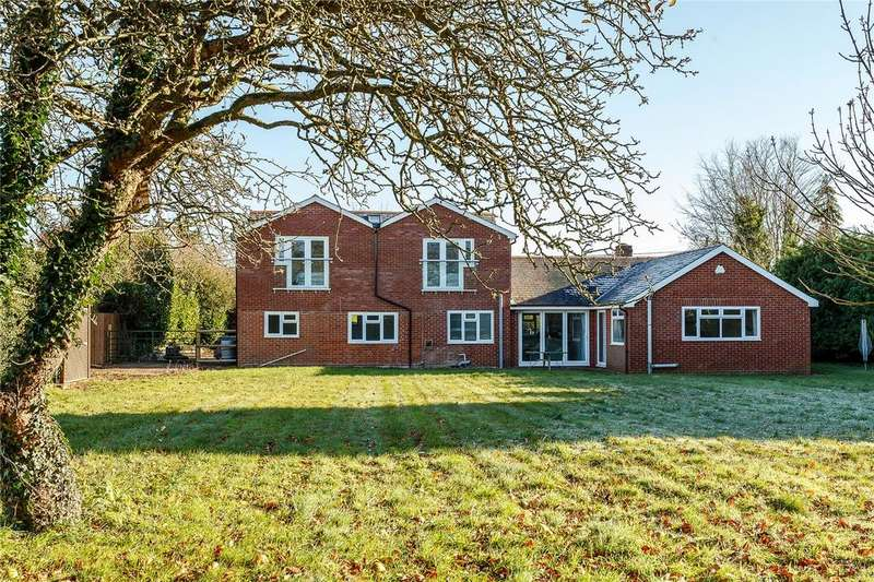 5 Bedrooms Detached House for sale in King Lane, Over Wallop, Stockbridge, Hampshire