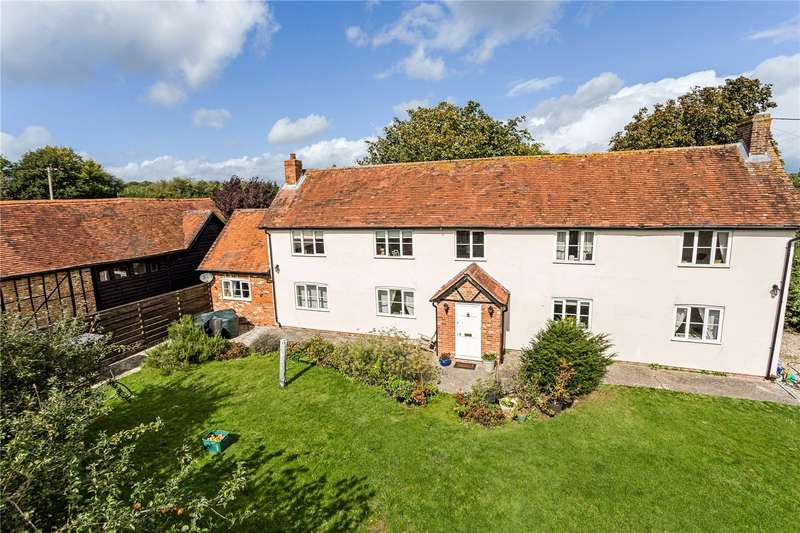 4 Bedrooms Detached House for sale in Hill Farm, Shop Lane, Leckhampstead, Newbury, RG20