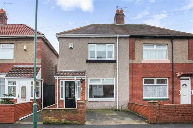 3 Bedrooms Semi Detached House for sale in Nora Street, South Shields, Tyne and Wear