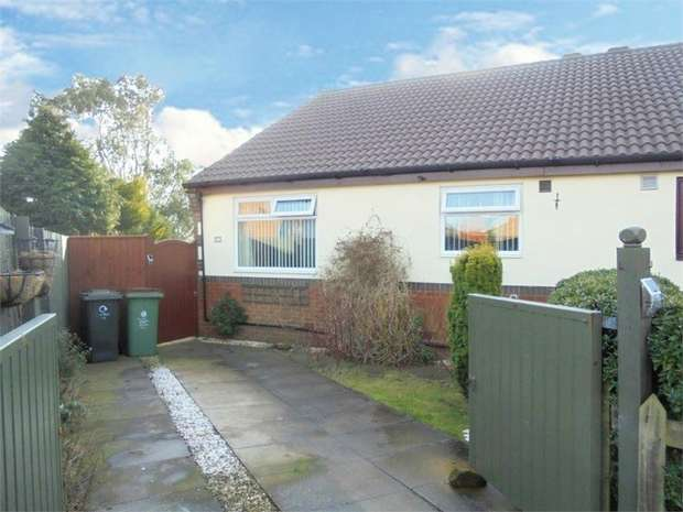 3 Bedrooms Semi Detached Bungalow for sale in Cragside, Brotton, Saltburn-by-the-Sea, North Yorkshire