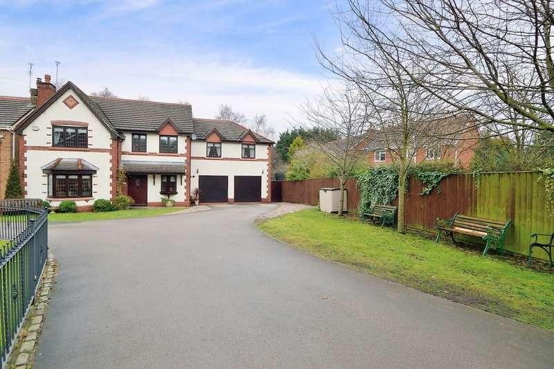 5 Bedrooms Detached House for sale in Rembury Place, Dutton, Warrington, WA4